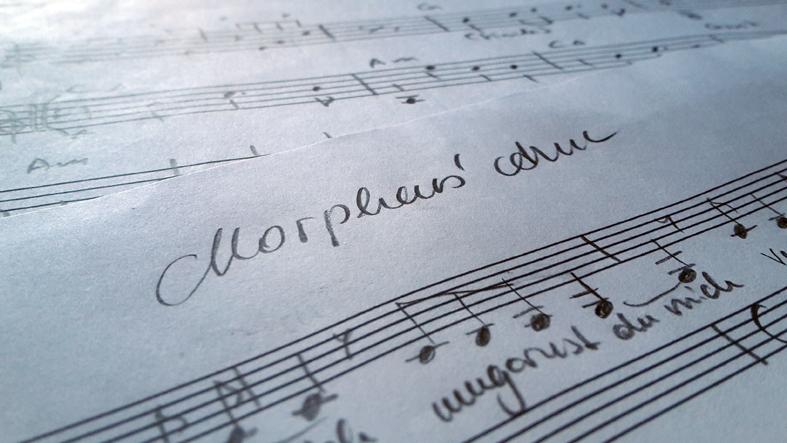 Entstehung von Morpheus' Arm